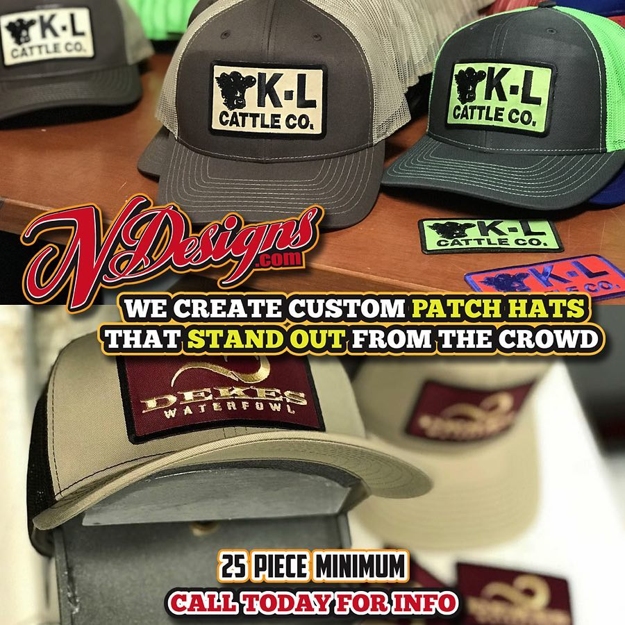 Patch hats