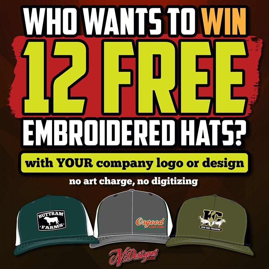 12 Free Hats